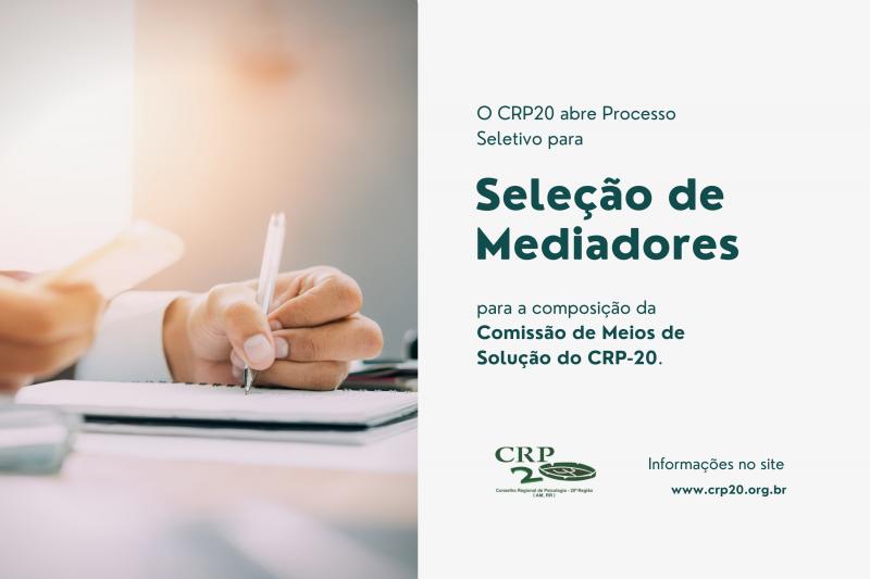 PROCESSO DE SELEÇÃO DE MEDIADOR INDEPENDENTE