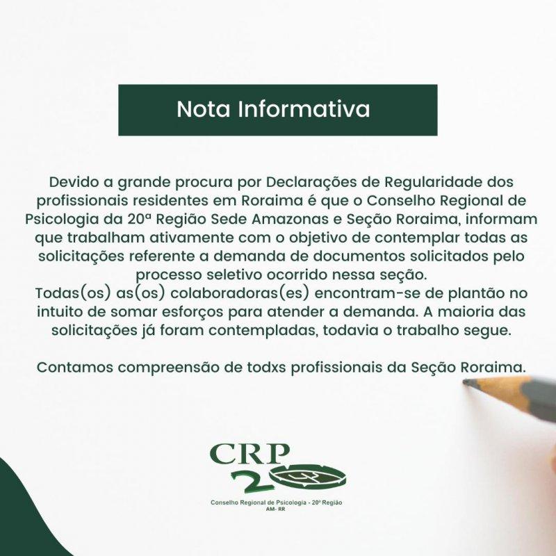 Nota Informativa - 01.06